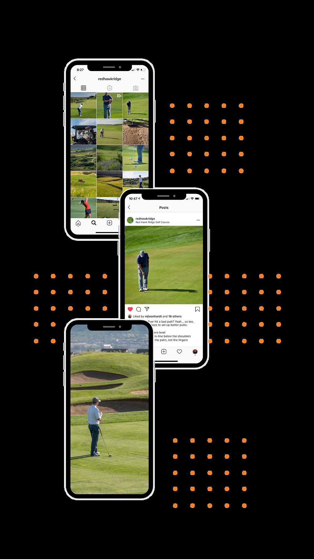 Golf Course Social Media Marketing - Content