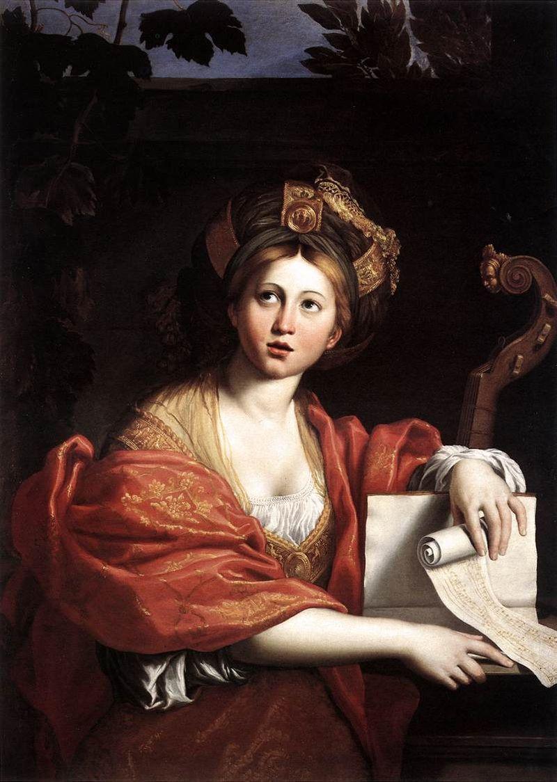 Dipinto della Sibilla Cumana . Domenichino