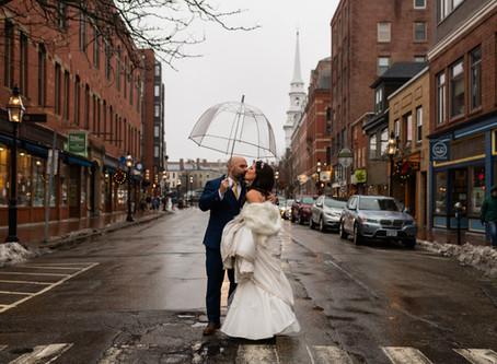 SNEAK PEEK - JESSICA & ERIC'S INTIMATE PORTSMOUTH WEDDING