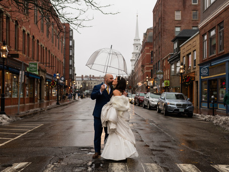 JESSICA & ERIC'S INTIMATE PORTSMOUTH WEDDING
