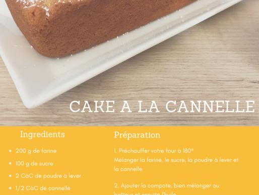 CAKE A LA CANNELLE