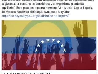 """""""La diabetes no espera"""" La historia de Melissa Cipriani, advocate en diabetes de Venezuela"""