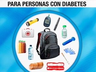 ¿Qué hacer ante un desastre natural si vivimos con Diabetes Tipo 1 o Tipo 2?