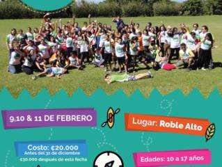 """Campamento Asociación Día Vida-""""Creciendo Juntos"""" 2018"""