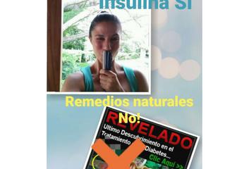 """Los remedios """"alternativos"""" y """"naturales"""" NO son curas ni sustitutos de la insul"""