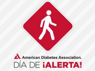 Día de Alerta acerca de la Diabetes tipo 2. Comparta, haga la prueba y prevenga.