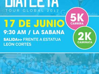 Carrera DiAtleta en Costa Rica Tour Global 2017
