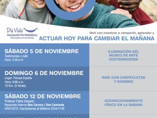 Actividades Noviembre azul.