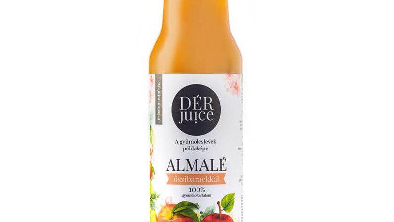 Dér Juice almalé őszibarackkal 0,75l