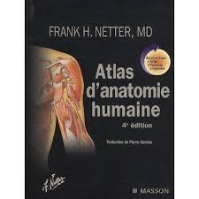 Atlas d'anatmomie humaine, Frank Netter MD
