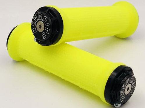 REVGRIPS – Pro Series HALF-WAFFLE (31 mm) – Neon Gelb