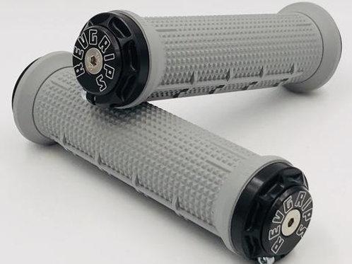 REVGRIPS – Pro Series HALF-WAFFLE (31 mm) – Grau
