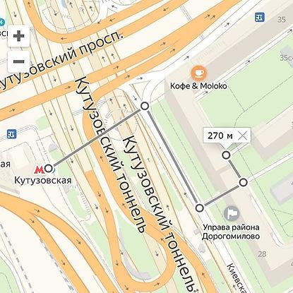 30, вход с Киевской улицы ( маршрут от м