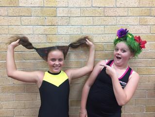 G.G Belles go Hair Crazy!