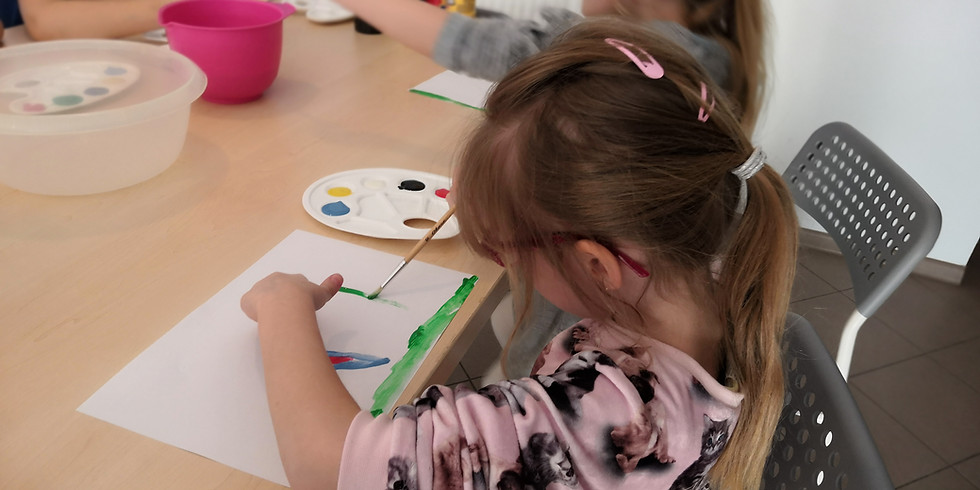 Warsztaty Kreatywności 6 - 8 lat - Piątki 18:00 - 19:30