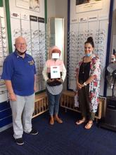 Specsaver / Rotary Swellendam - another happy handover