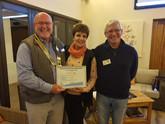Swellendam Rotary Club awarded Rotary International Presidential Platinum Citation
