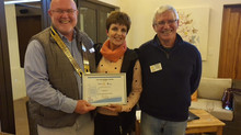 Swellendam Rotary Club awarded Rotary International Presidential Platinum Citation