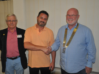 Rotary Swellendam welcomes our newest member
