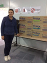 Rotary Anns soap donation