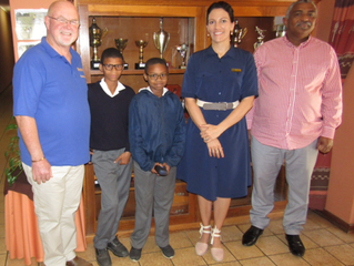 Specsavers/Rotary roll out to Suurbraak Primary School