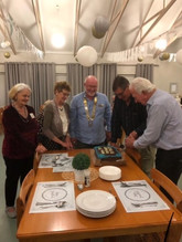 District Governor visit and birthday celebration