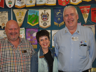 District Governor district 9350 visits Swellendam Rotary