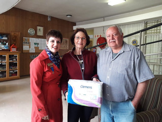 Nappy Donation - to Swellendam Rotary Anns