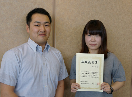 経営学部の成績優秀者表彰式