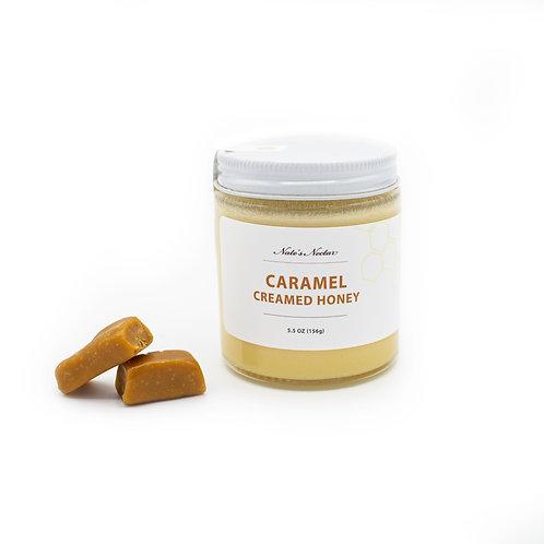 Caramel Creamed Honey