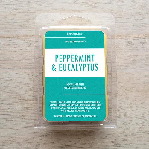 Peppermint & Eucalyptus Beeswax Melt