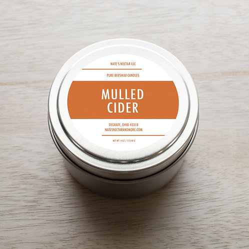 Mulled Cider Beeswax Candle