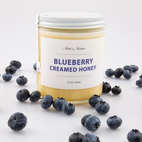 Blueberry Creamed Honey
