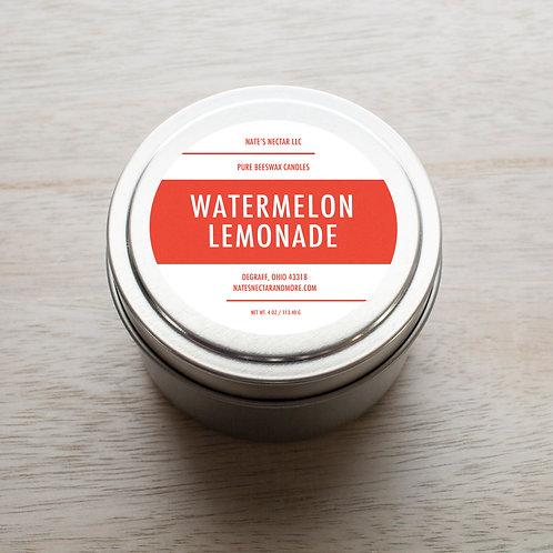 Watermelon Lemonade Beeswax Candle