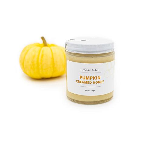 Pumpkin Creamed Honey