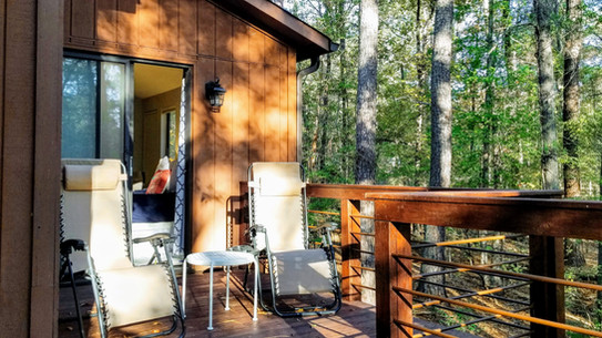 Deck outside Blue Bird