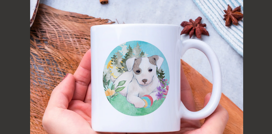 Custom dog sticker