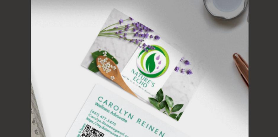 Business cards doTerra