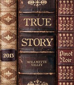 True Story Pinot Noir Label