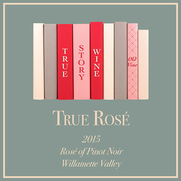 True Rose label