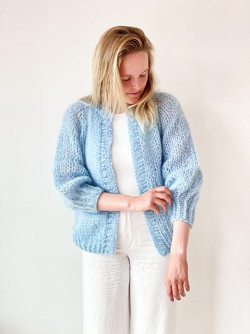 Paulette cardigan - Light blue
