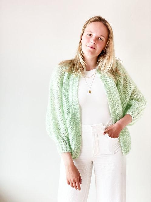Paulette cardigan - Spring Green