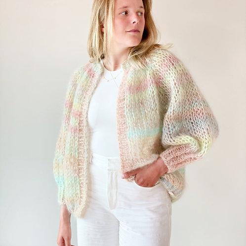 Paulette cardigan - Multi-color ombré