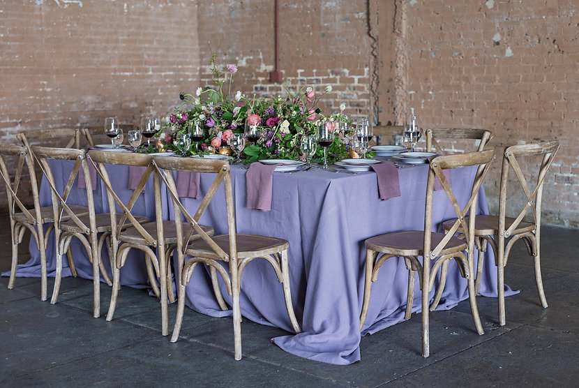 Gorgeous table design provided by Zimmerman Events.