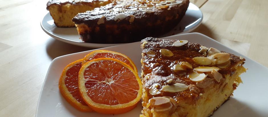 Orange Almond Cake tastes as good as it looks!