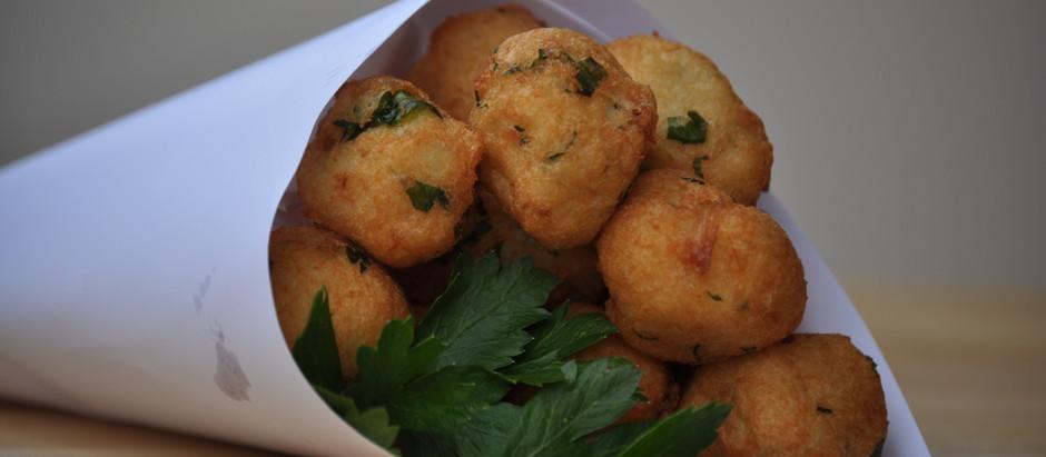 Bolinhos de Bacalhau (Codfish Fritters)