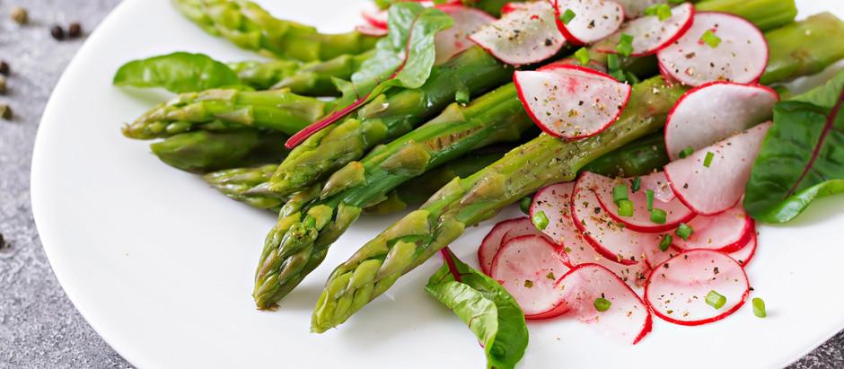 Springtime and asparagus go hand in hand!