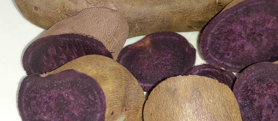 Mashed Purple Yam