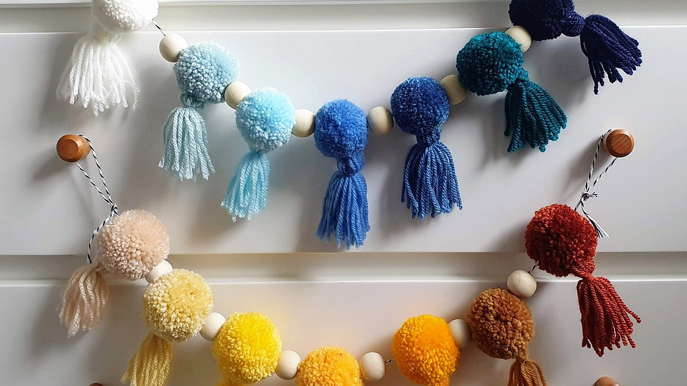 Ombre garland