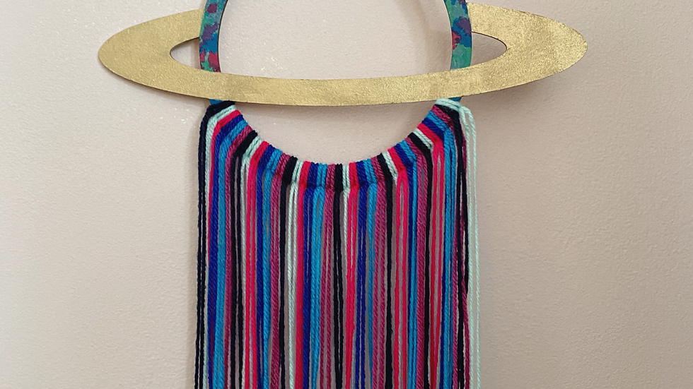 Planet wall hanging